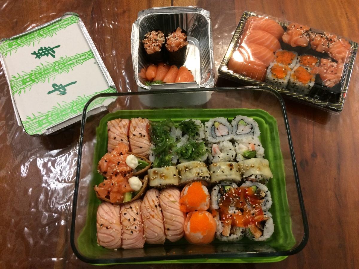 Les sushis de l'extrême